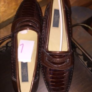 Zelli genuine ostrich all leather never worn
